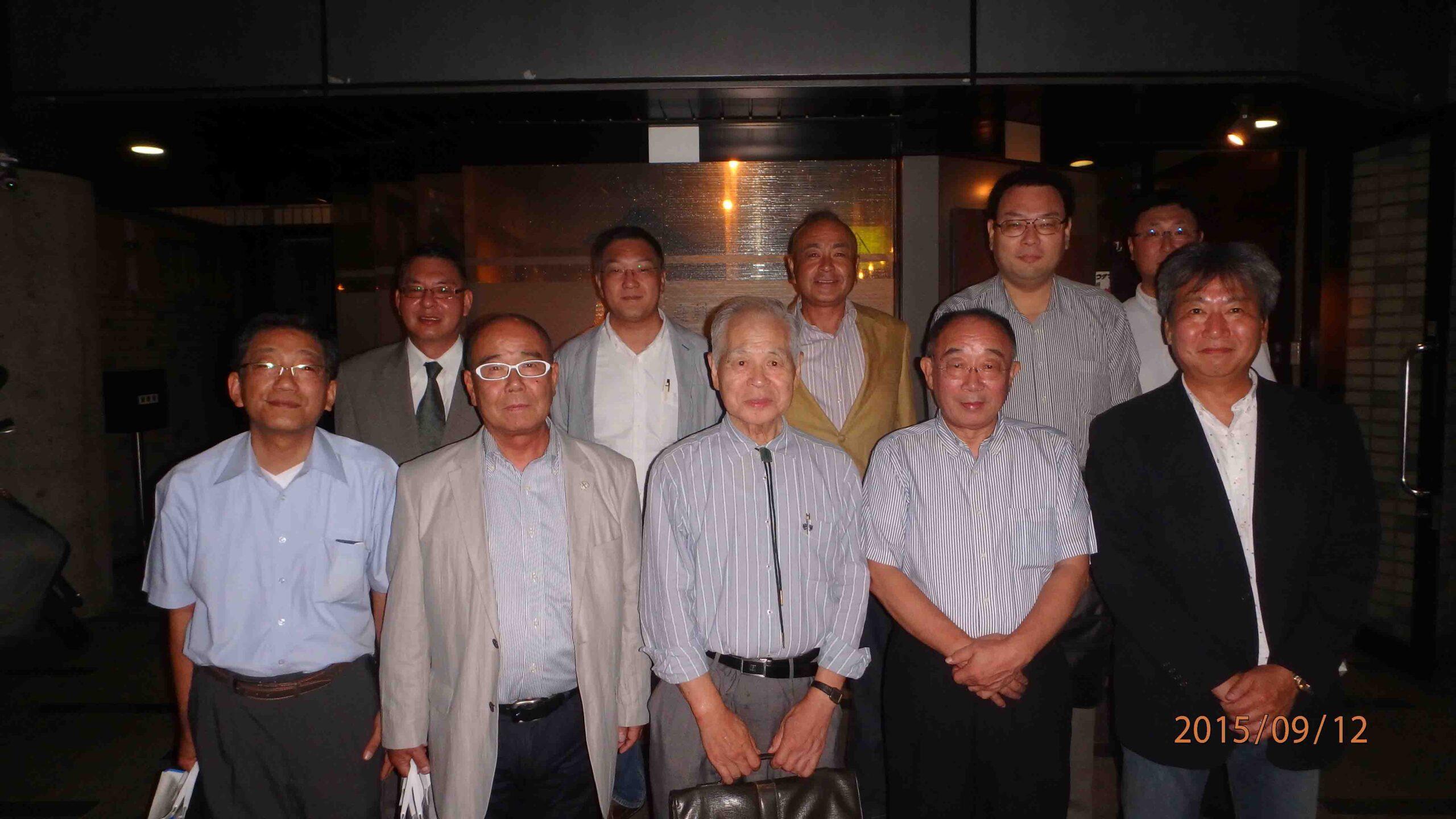 記事 2015年9月12日東日本支部設立総会を開催。のアイキャッチ画像